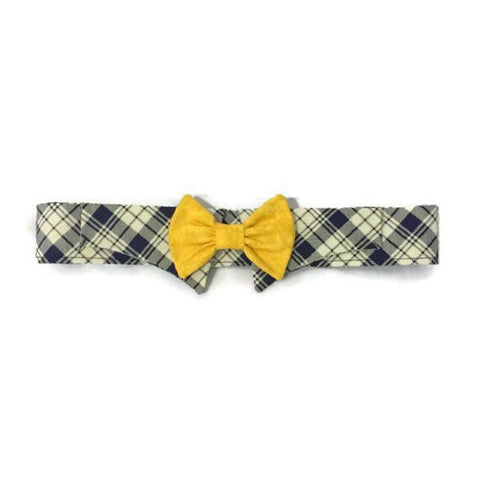 Big Shot Shirt Collar Bow Tie Set - Snort Life, Mini Pig Clothes