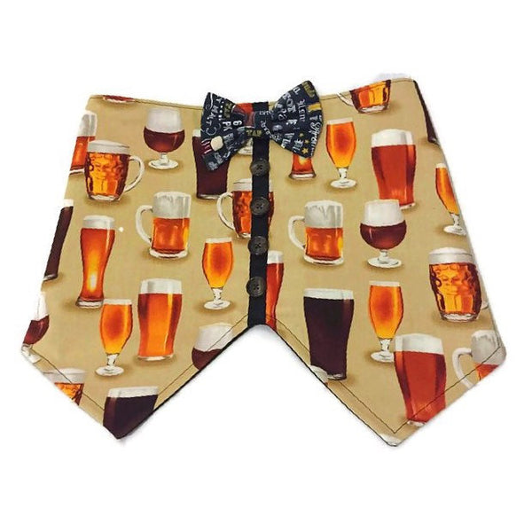 It's Beer Thirty Bow Tie Vest - Snort Life, Mini Pig Clothes