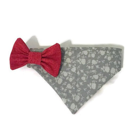 Feels Like Fall Reversible Bandana - Snort Life, Mini Pig Clothes