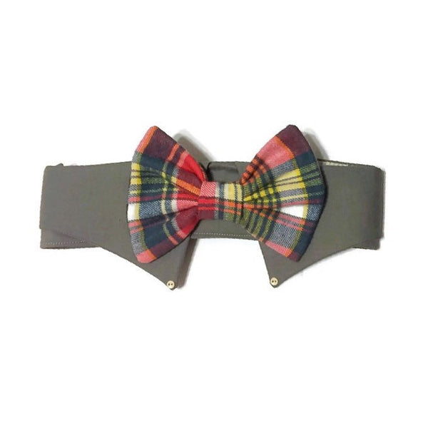 Chattanooga Shirt Collar Bow Tie Set - Snort Life, Mini Pig Clothes