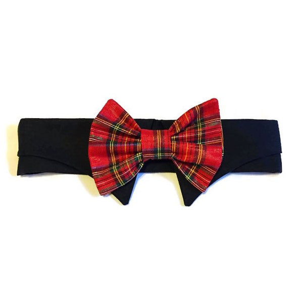 All Wrapped For Christmas Bow Tie Collar Set - Snort Life  - 2