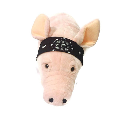 His & Hers Biker Bandana - Snort Life, Mini Pig Clothes