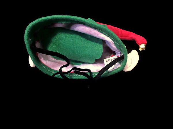 Holiday Elf Hat W/ Ears - Snort Life, Mini Pig Clothes