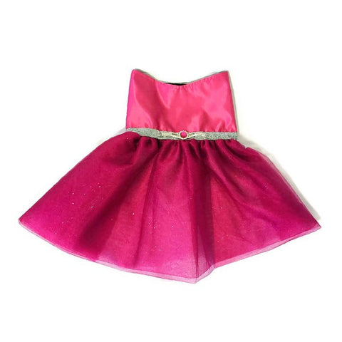 Material Girl Rhinestone Dress - Snort Life, Mini Pig Clothes