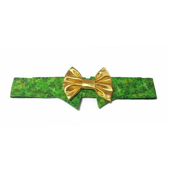 The Luck Of The Irish Bow Tie Shirt Collar - Snort Life, Mini Pig Clothes