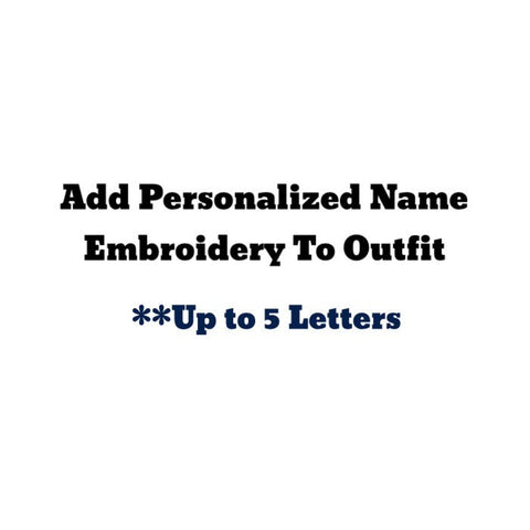 Personalized Embroidered Name--up To 5 Letters - Snort Life  - 1