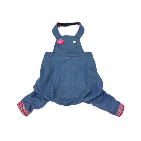 Savannah Denim Overalls - Snort Life  - 1
