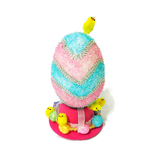 Ready To Ship-- Eggtastic Easter Top Hat - Snort Life, Mini Pig Clothes