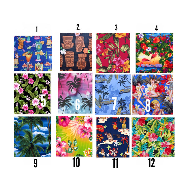 His & Hers Hawaiian Shirt--12 Pattern Choices - Snort Life  - 3