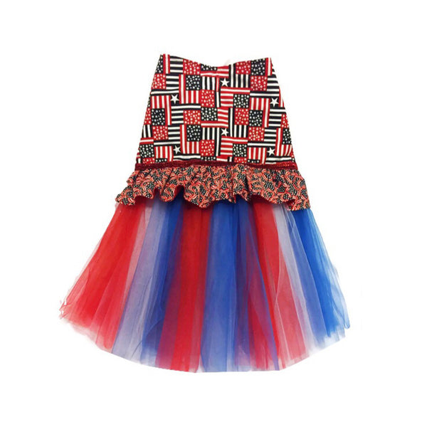 Miss Red, White & Blue Tutu Dress - Snort Life  - 1