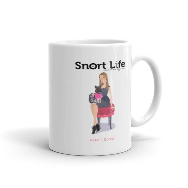 Rosie & Doreen Mug - Snort Life, Mini Pig Clothes
