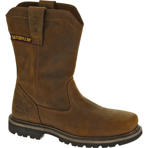 CAT® Wellston Pull On Steel Toe Work Boot