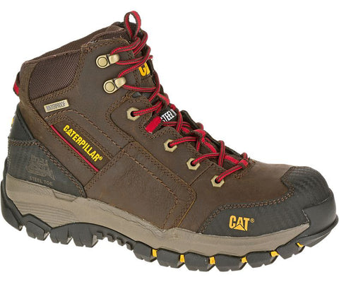 CAT® NAVIGATOR MID WATERPROOF STEEL TOE WORK BOOT R[P90614]