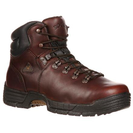 Rocky® Men's MobiLite Waterproof Work Boots Dark Brown [FQ0006114]