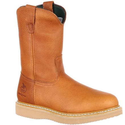 Georgia Boot® Wedge Steel Toe Wellington Work Boot [G5353]