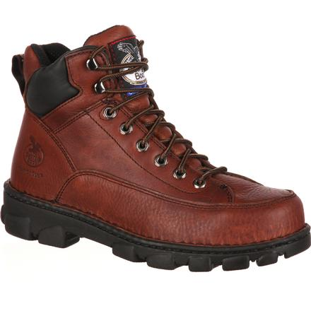 Georgia Boot® Men's Eagle Light Wide Load Steel Toe Work Boot [G6395]