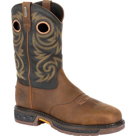 Georgia Boot® Carbo Tec LT Steel Toe Waterproof Pull-On Work Boot [GB00267]