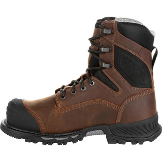 2ad0c7fba21 GEORGIA BOOT RUMBLER 8INCH COMPOSITE TOE WATERPROOF WORK BOOT [GB00285]