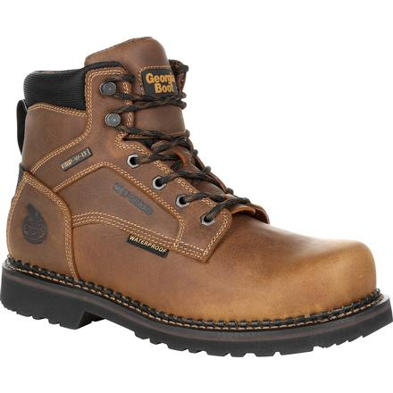 GEORGIA GIANT REVAMP STEEL TOE INTERNAL MET-GUARD WATERPROOF WORK BOOT [GB00322]