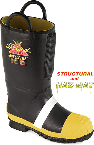d3e4403703a Thorogood® Men's HellFire WP/Insulated Rubber Steel Toe Boot [807-6000]
