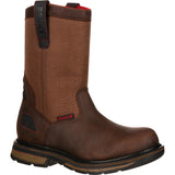 Rocky® Men's Hauler Ccomposite Toe Waterproof Pull-On Work Boot