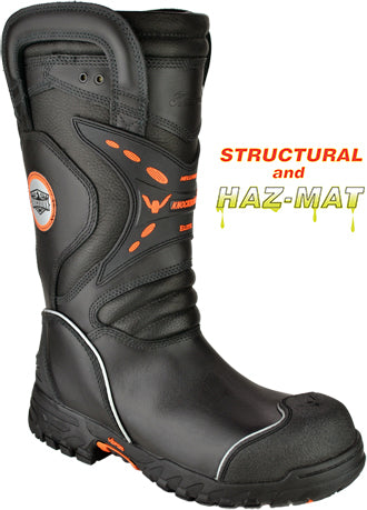 Thorogood® HellFire Knockdown Elite Structural & Hazmat Certified Bunker Composite Toe 14