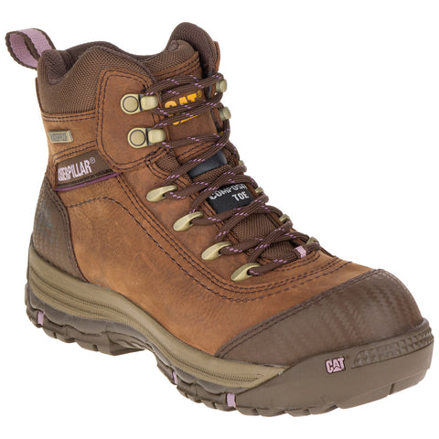 CAT® Women's Ally Waterproof Composite Toe Work Boot [P90760]