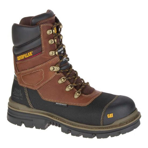 CAT® Men's Thermostatic Ice + Waterproof TX Composite Toe Work Boot [P90861]