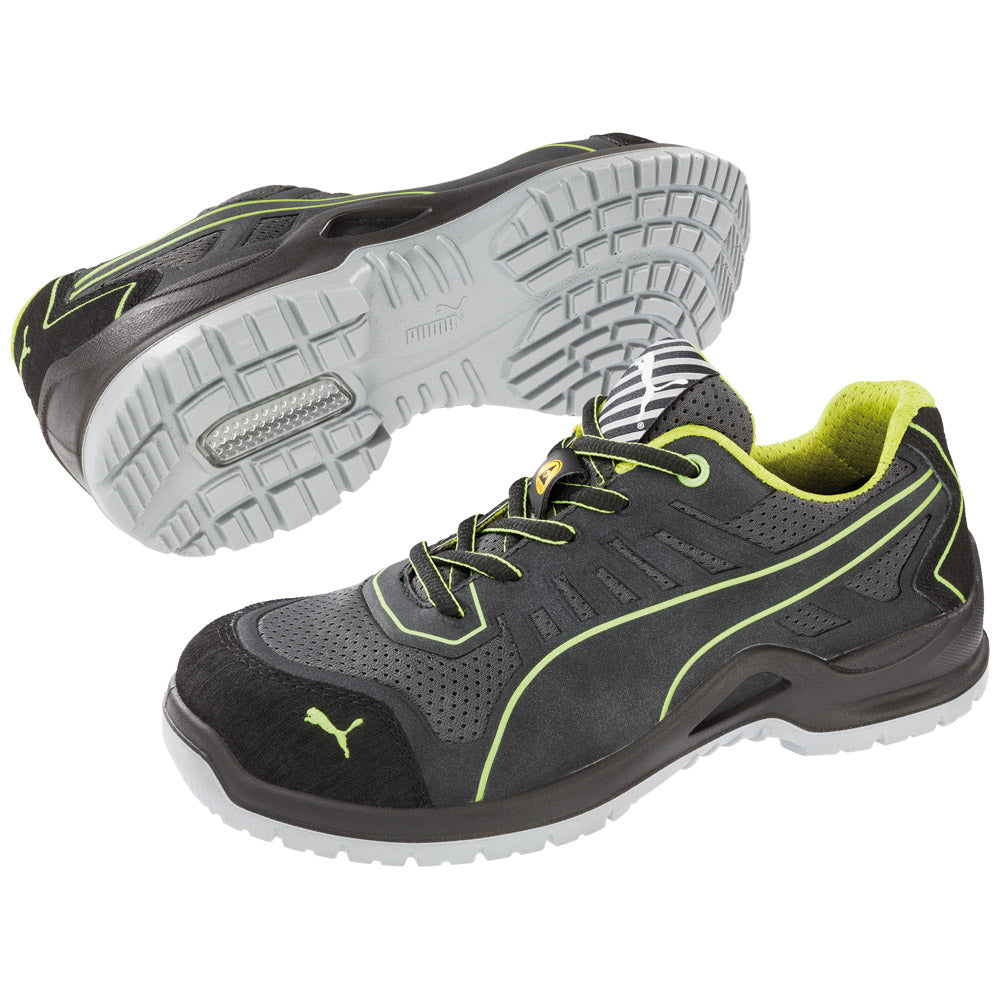 Puma® Women s Fuse TC Green Low  644105  – Only Work Boots baf585a61