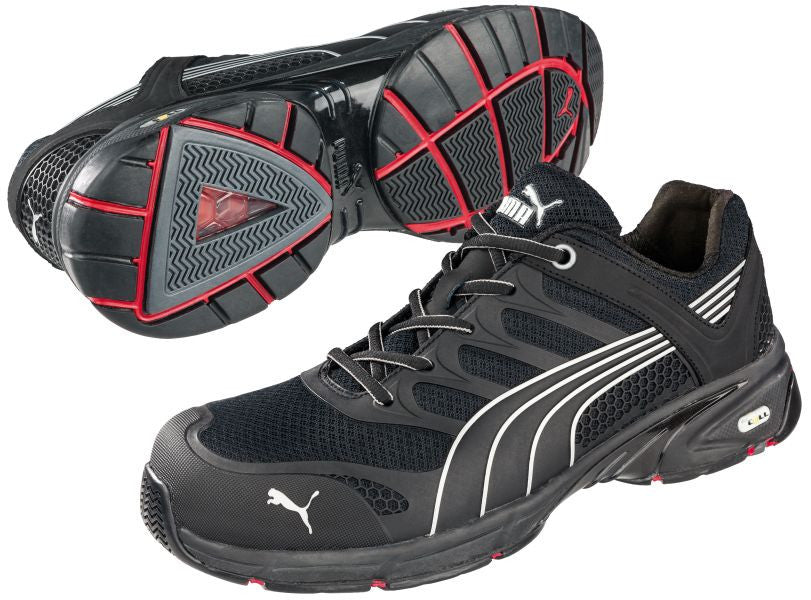 1a7e5221f1cf59 Puma® Men s Fuse Motion Black Low  642585  – Only Work Boots