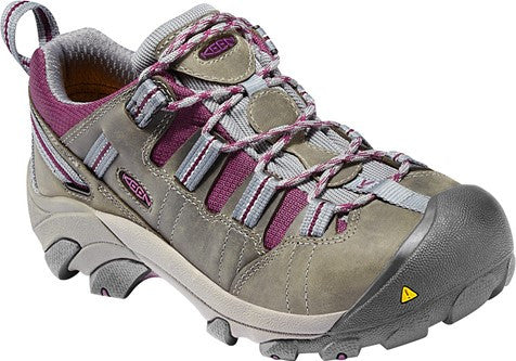 KEEN Utility® Women's Detroit Low Monument/Amaranth [1007016]