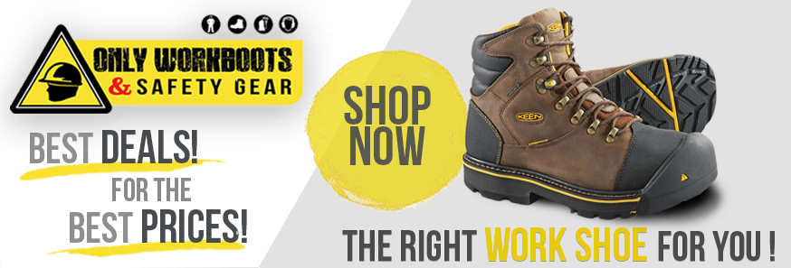 Electrical Hazard & Static Dissipative – Only Work Boots