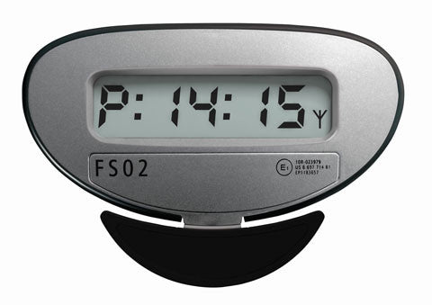 P-Watch parkeringstimer FS-02 sølv