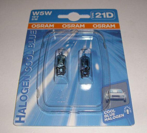 Glassokkel 5 watt Osram Cool Blue halogen