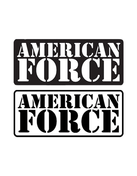 copy of american force decal