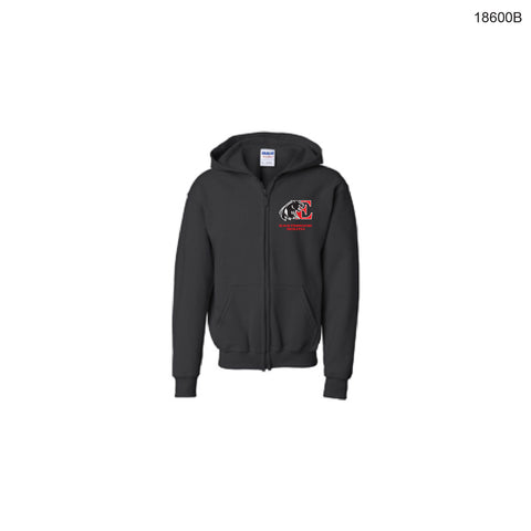 Eastbrook South Youth Zip-up Hoodie (embroidered)