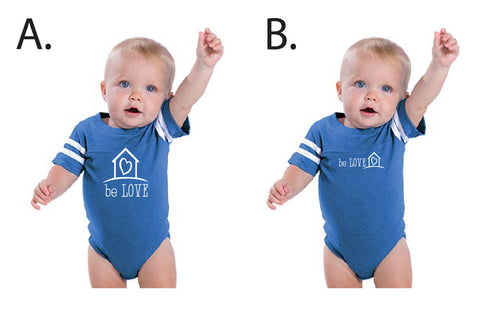 Helen's House Infant Football Fine Jersey Bodysuit