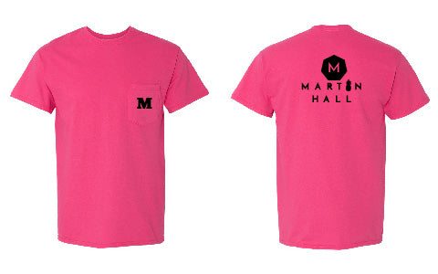 Martin Hall Heavy Cotton T-Shirt with a Pocket - 5300