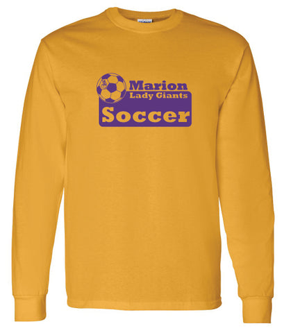 Marion Lady Giants Soccer Long Sleeve Tee