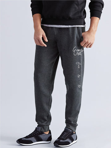 Evans Hall Nublend Joggers - 8800 - Black Heather