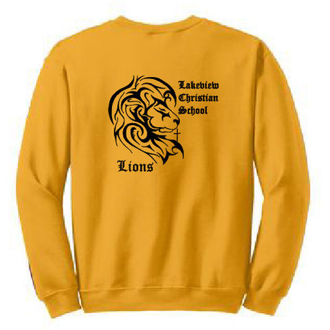 Lakeview Christian Crew Neck Sweatshirt