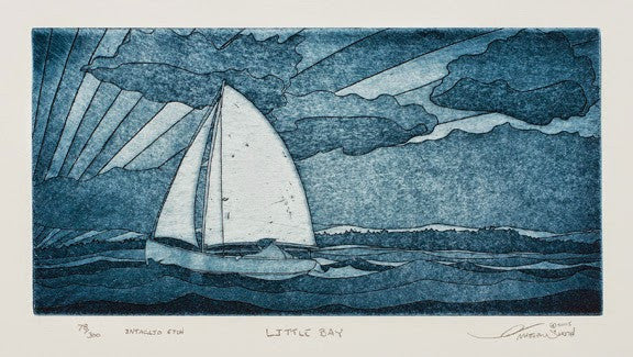 Little Bay - Sailboat