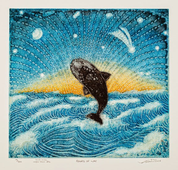Rights of Way - Breaching Whale