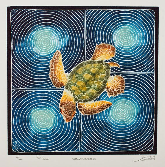 Transformation - Sea Turtle