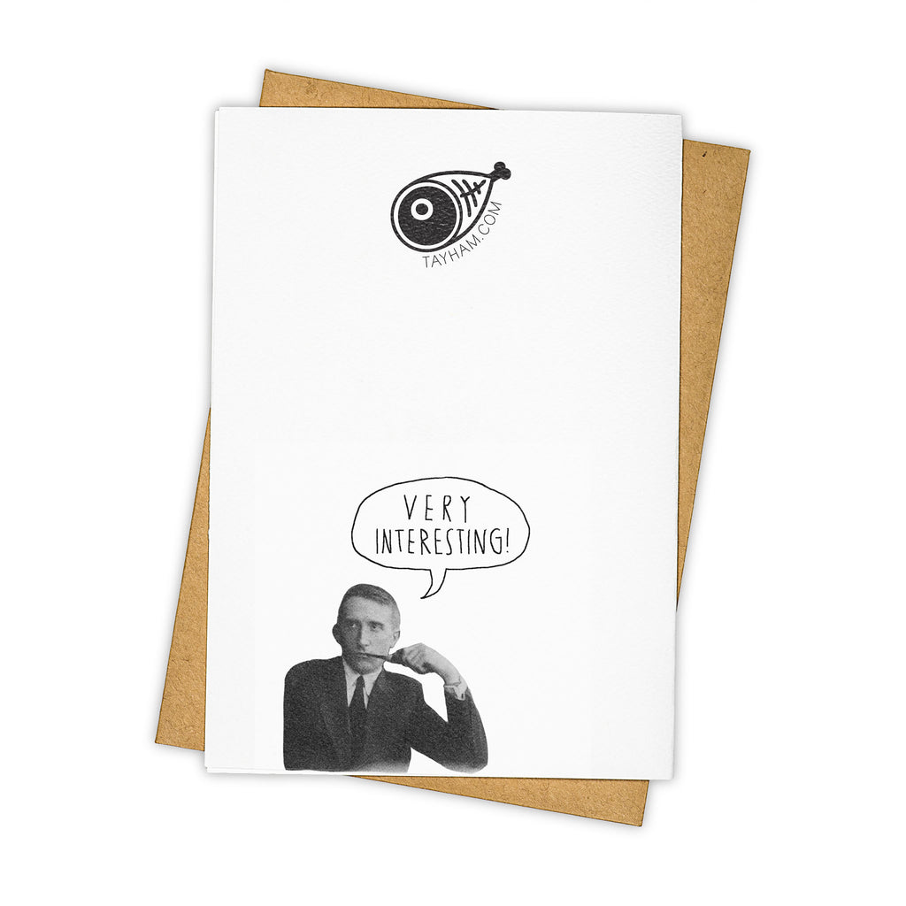 TAY HAM Albert Einstein Genius Nerd Father's Day Greeting Card Back