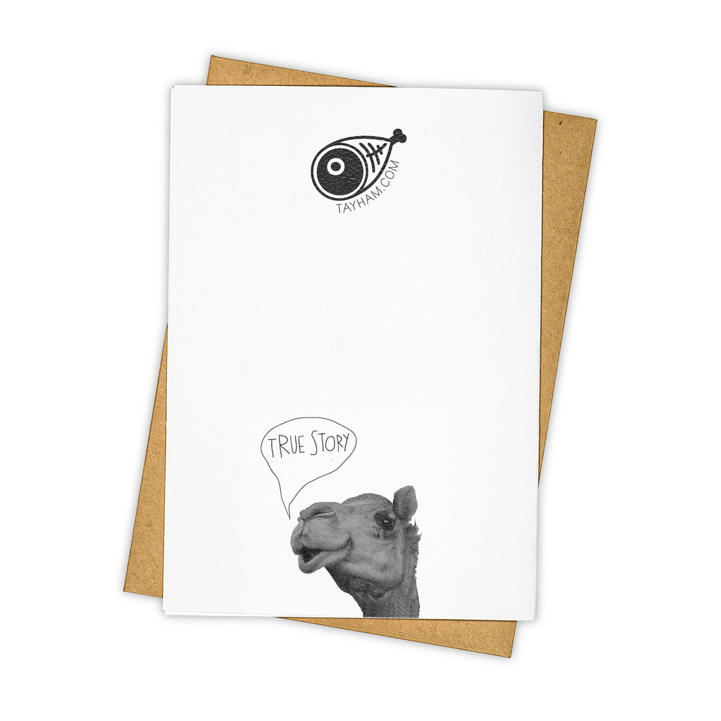 TAY HAM Yoga Greeting Card Back