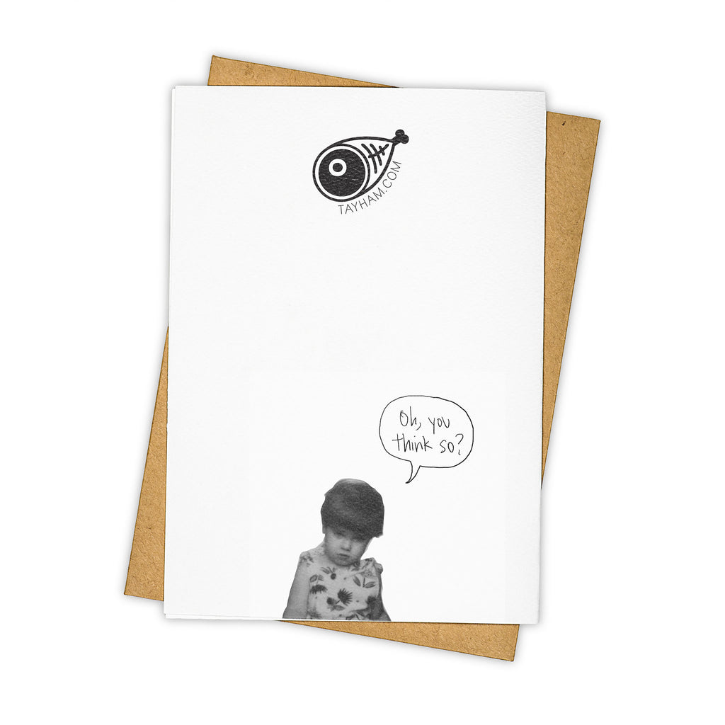 TAY HAM X-Files Dana Skully Fox Mulder Truth is out there Greeting Card Back