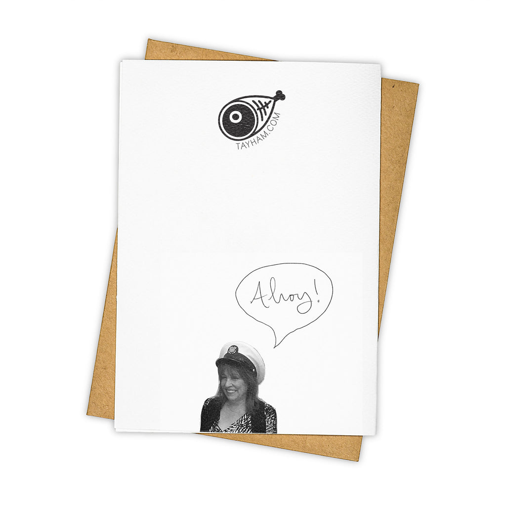 TAY HAM Toilet Paper Need You Greeting Card Back