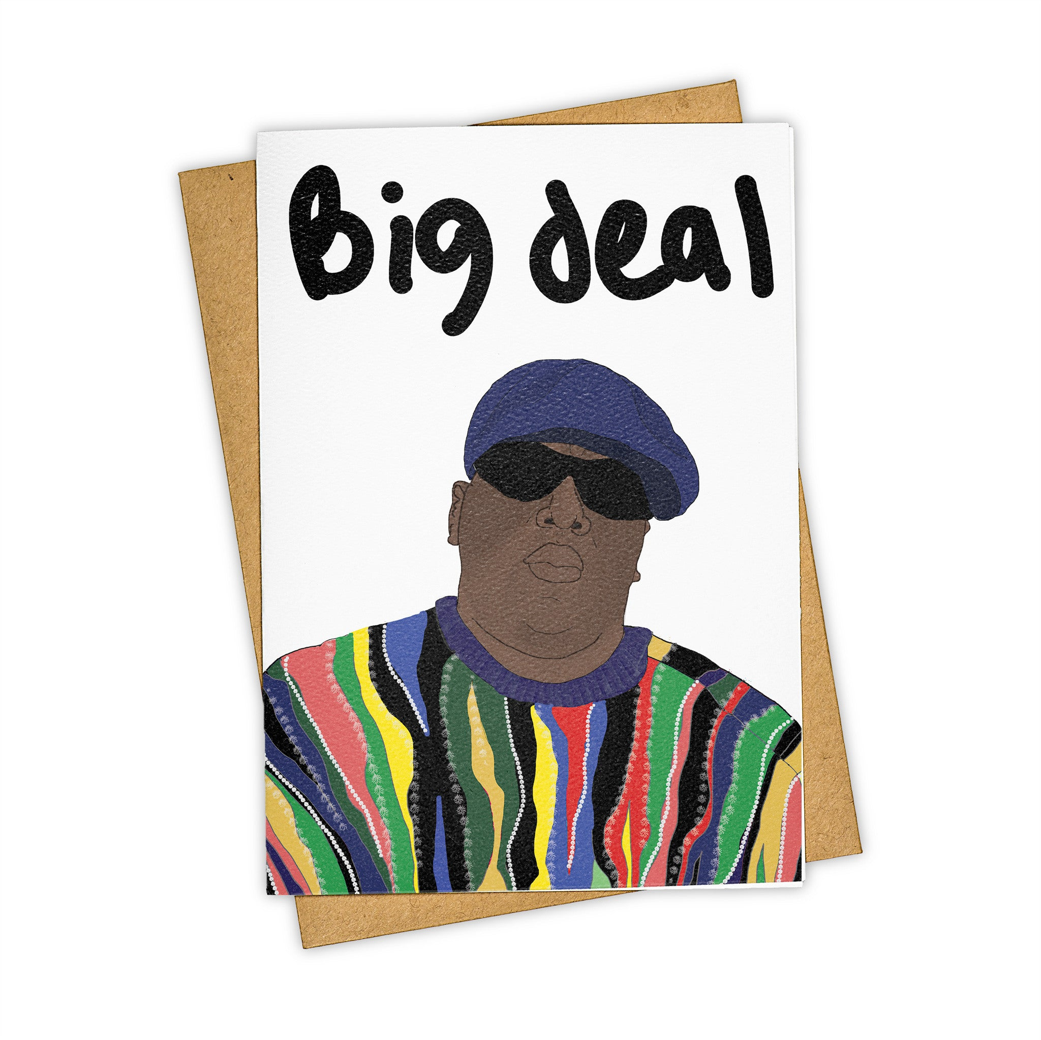 TAY HAM Notorious BIG B.I.G. Big Deal Greeting Card Congratulations