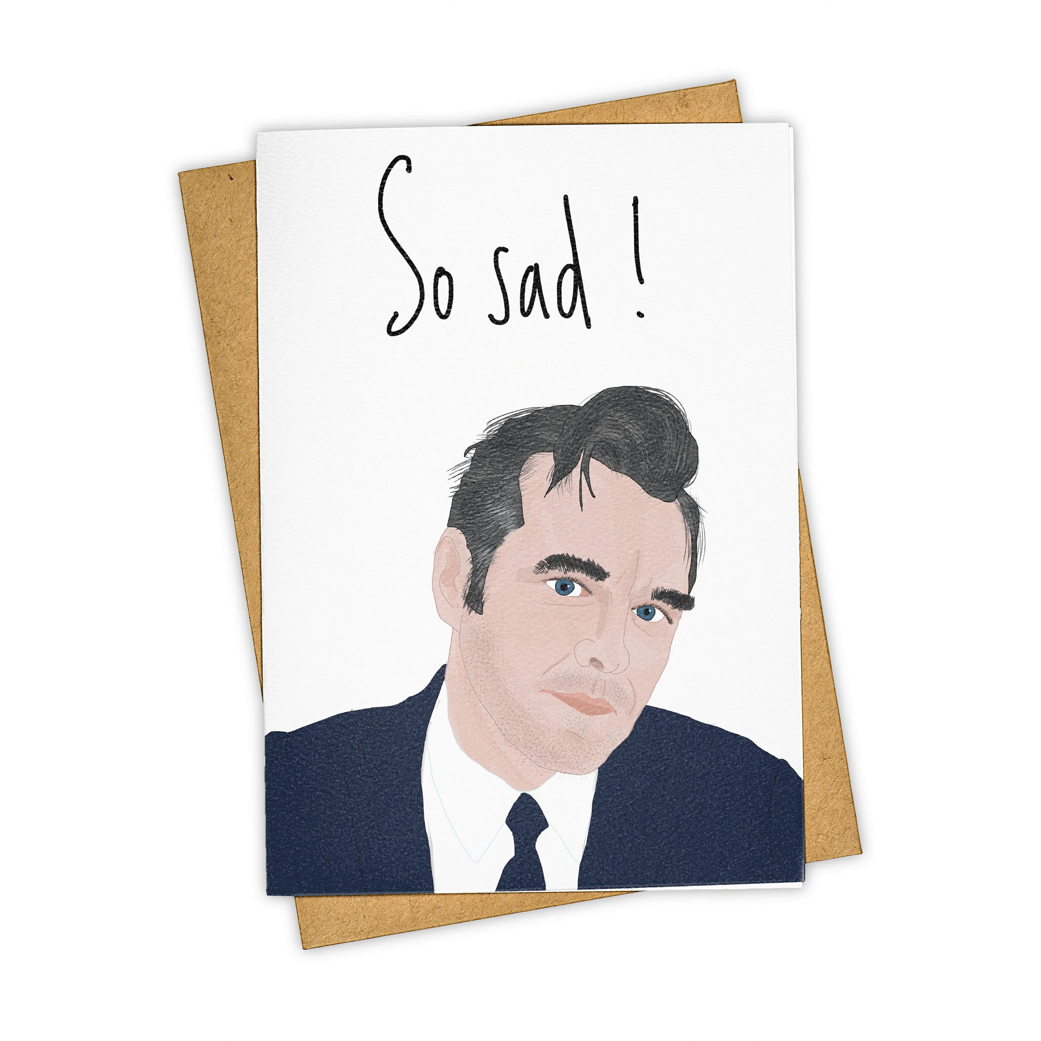 TAY HAM Morissey The Smiths Sad Songs Greeting Card